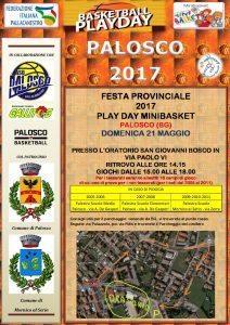 Modulo per il PLAY DAY del 21/05/2017 a PALOSCO (BG)